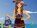 Summer Fashion On The Beach Dress Up
