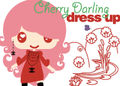 Cherry Darling Dressup