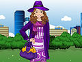 Purple Fashion Dress Up