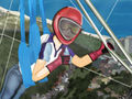Hang Gliding Girl