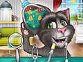 Talking Tom Cat Ear Surgery