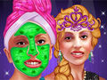 Lady Gaga Frozen Princess Makeover