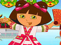 Dora in China Dressup