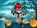 Halloween Tom Dress Up Game