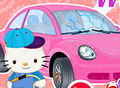 Hello Kitty Car Wash And Repair