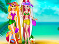 Elsa and Rapunzel Swimsuits Fashion