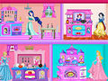 Princess Kitchen Dollhouse