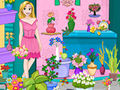 Rapunzel Flower Shop Cleaning