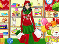 Shopping For Santa Claus Dress Up