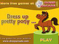 Dress up pretty pony