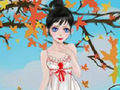 Autumn Wedding Girl