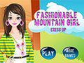 Fashionale Mountain Girl Dress Up