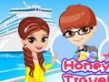 Honeymoon Travel Couple
