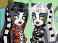 Werecat Sisters Dress Up