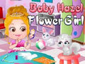 Baby Hazel Flower Cat