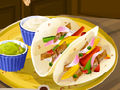 Sara's Cooking Class Chicken Fajitas