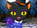 Cute Kitty Cat Halloween