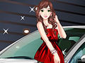 Enchanting Car Model Dress Up