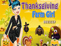 Thanksgiving farm girl dressup