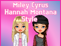 Miley Cyrus Hannah Montana Style
